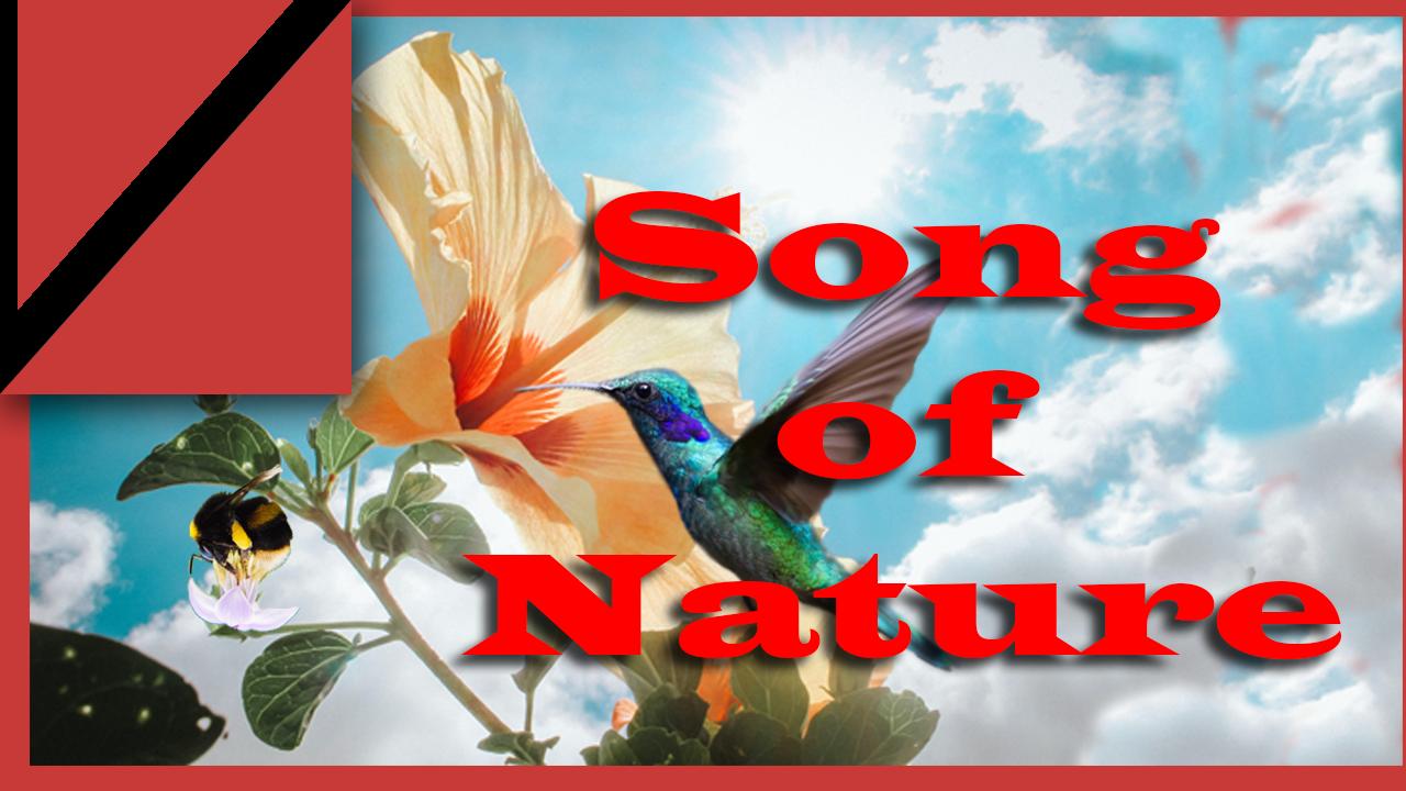poem on savan for nature